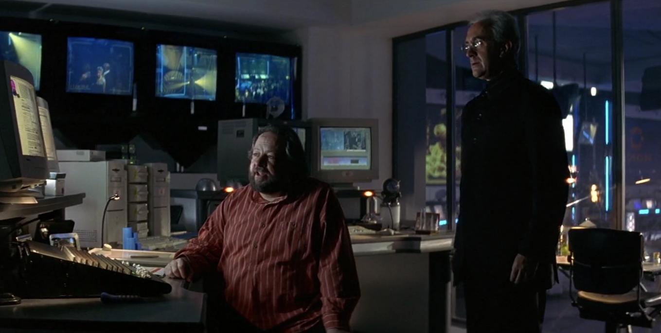 Henry Gupta at the computer